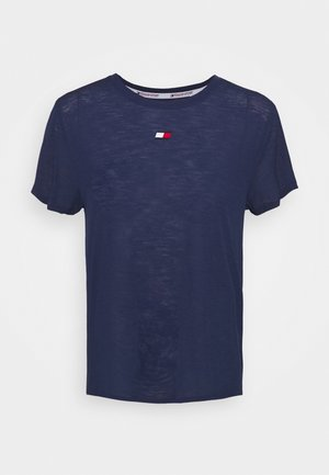 PERFORMANCE - T-shirts med print - blue