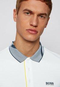 BOSS - PAULE  - Polo shirt - white - 3