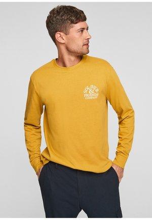 MET IN RETRO LOOK - Long sleeved top - mustard