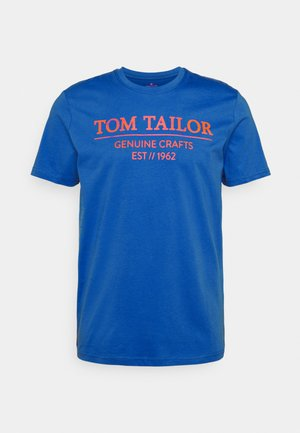 T-shirt con stampa - clearly blue