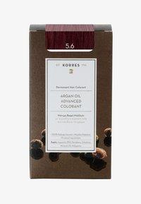 Korres - ARGANÖL HOCHENTWICKELTE COLORATION - Hair colour - 5.6 hellbraun rot - 0