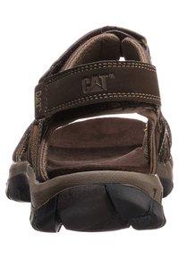 Cat Footwear - GILES - Walking sandals - dark brown - 1