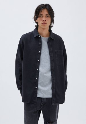 RELAXED FIT - Shirt - black