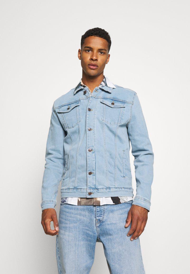 Denim Project - KASH JACKET - Giacca di jeans - sky blue