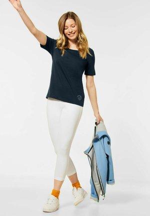 STYLE - Basic T-shirt - blau