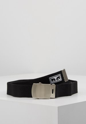 BIG BOY WEB BELT - Pásek - black