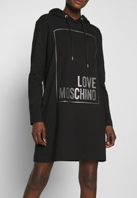 Love Moschino - Korte jurk - black - 3