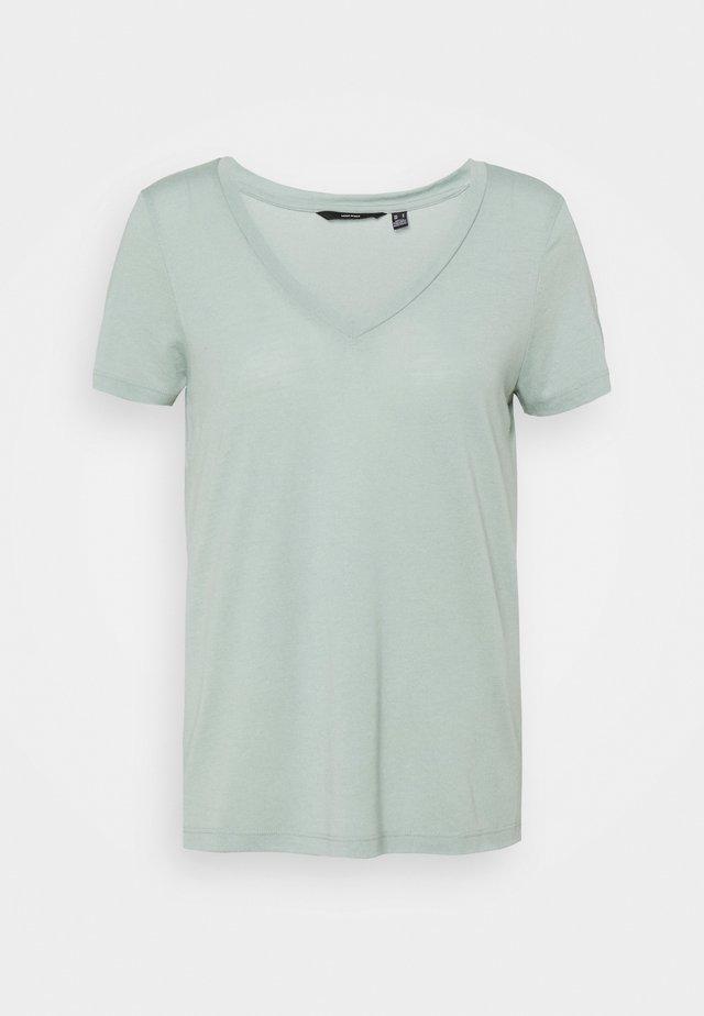 VMSPICY V NECK 3 PACK - Basic T-shirt - black/jadeite/old rose