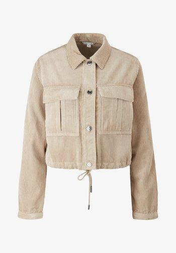 Summer jacket - dark beige