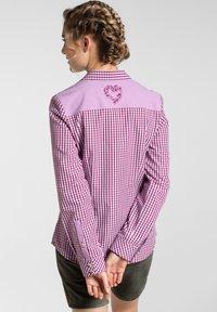 Spieth & Wensky - MALLORCA - Button-down blouse - berry - 1