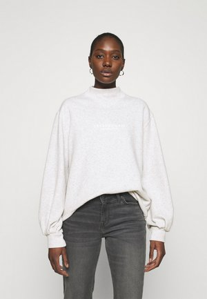 SEASONAL LOGO MOCK NECK CREW  - Sweatshirt - grey