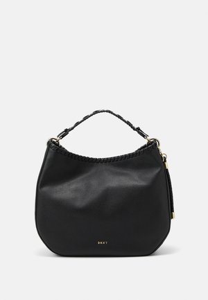 WINNIE HOBO PEBBLE - Kabelka - black/gold