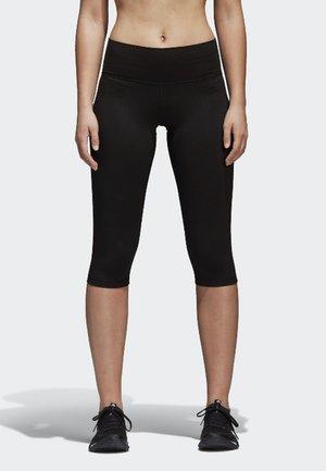 BELIEVE THIS HIGH-RISE SOFT CAPRI  - 3/4 sports trousers - black
