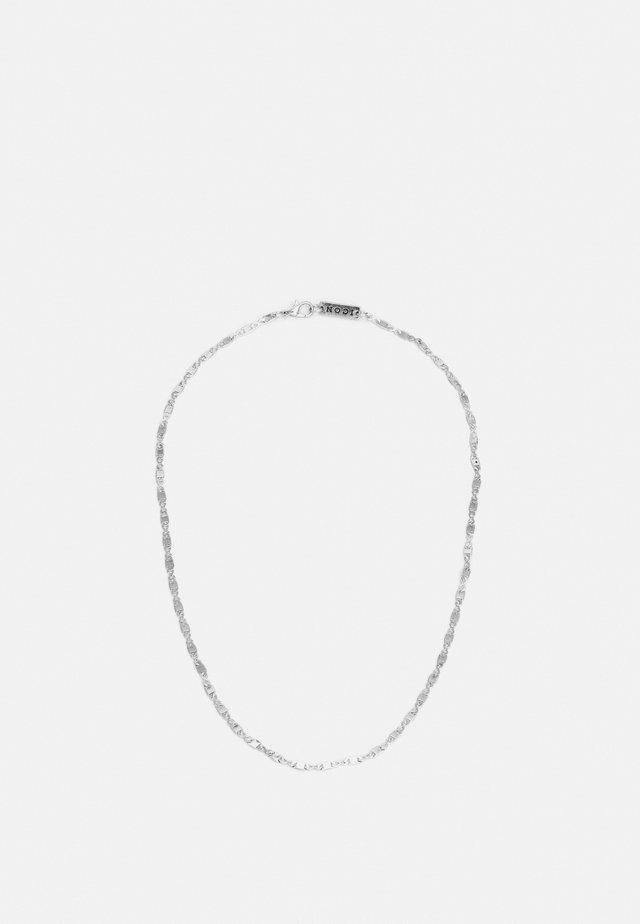 FINE FIGARO CHAIN NECKLACE - Collana - silver-coloured