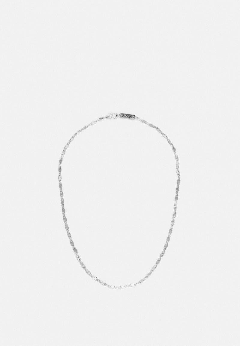 Icon Brand - FINE FIGARO CHAIN NECKLACE - Necklace - silver-coloured