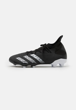 PREDATOR FREAK .3 FG - Moulded stud football boots - core black/footwear white