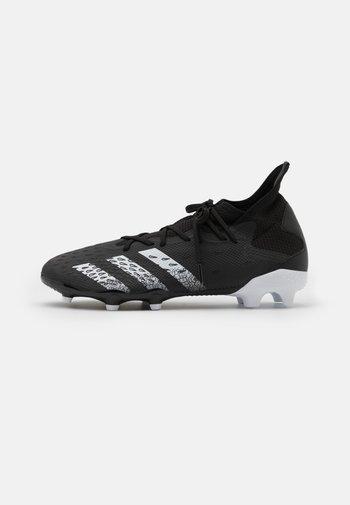 PREDATOR FREAK .3 FG - Moulded stud football boots - core black/footwear white