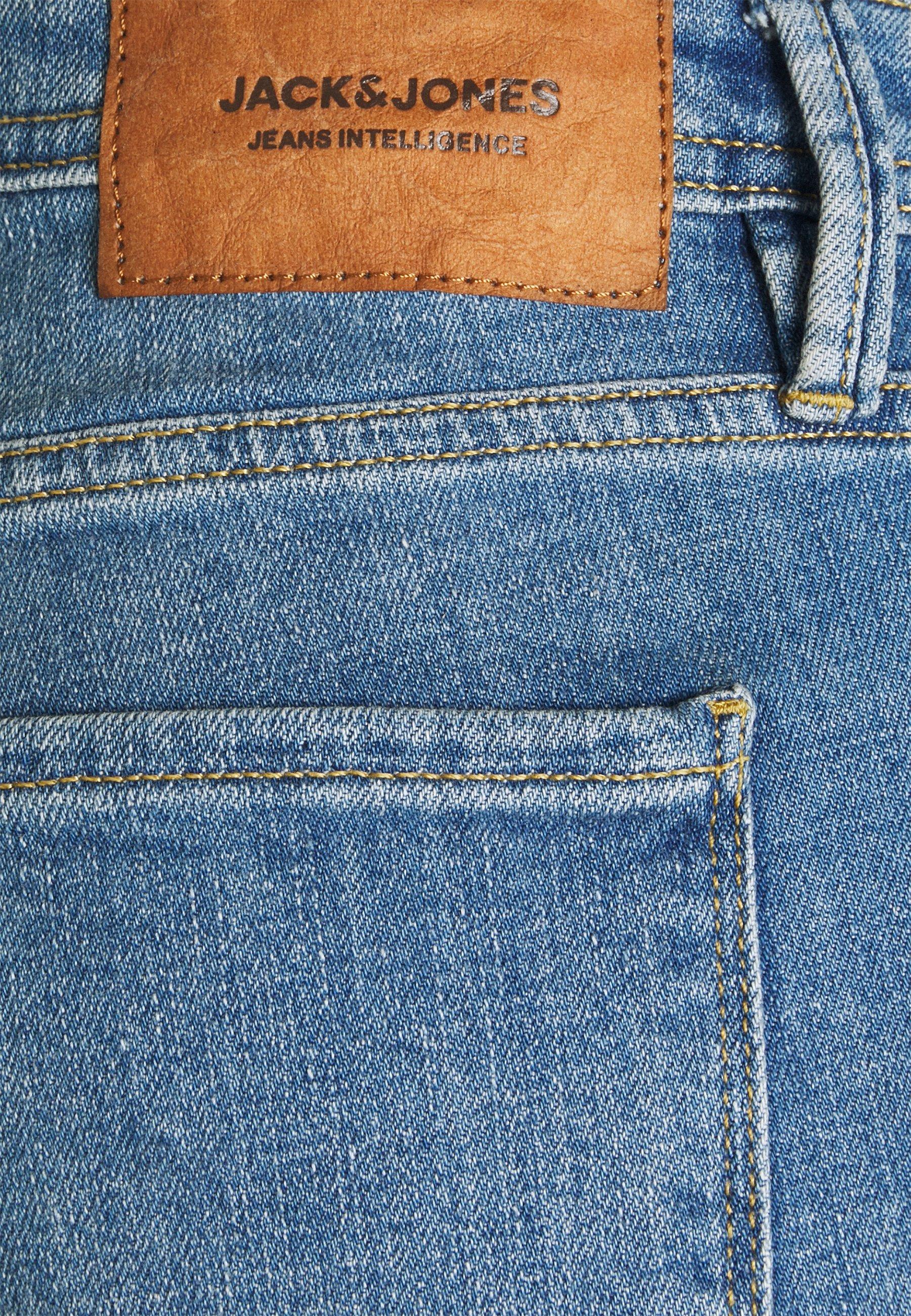 Men JJIGLENN JJFELIX - Slim fit jeans - blue