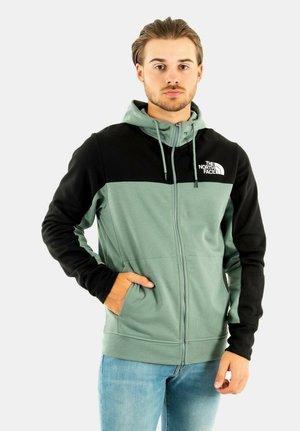 Zip-up sweatshirt - vert