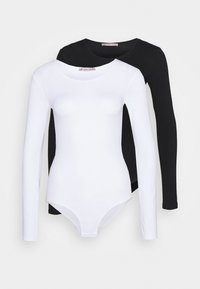 Anna Field - 2 PACK - Body - black/white - 5