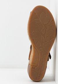 El Naturalista - LEAVES - Platform sandals - wood - 6
