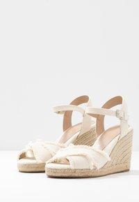 ALDO - ONAREWIA - High heeled sandals - natural - 4