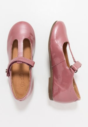 FIONAS T-BAR NARROW FIT - Ankle strap ballet pumps - pink