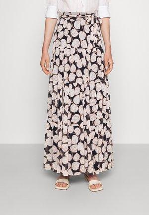 LILLIAN SKIRT - Maxi skirt - black