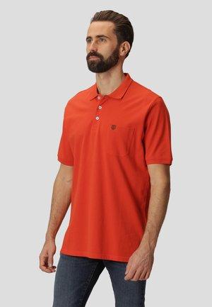 NIELS - Polo shirt - dark orange