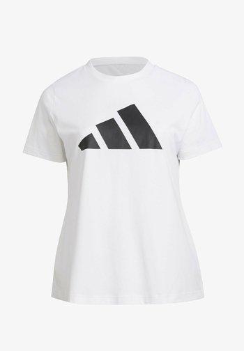W FI 3B  - Print T-shirt - white