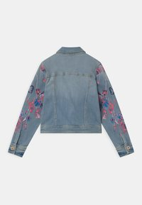 Vingino - EMBROIDERED FLOWERS - Denim jacket - light indigo - 1