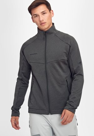 Training jacket - black melange