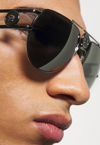 UNISEX - Sunglasses - gunmetal