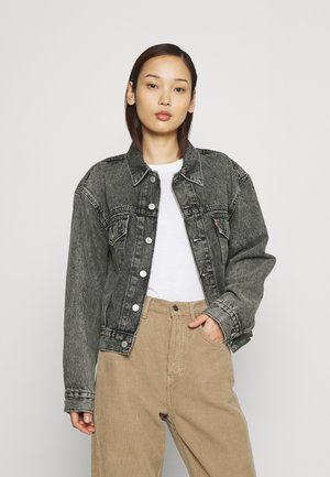 OVERSIZED UTILITY TRUCKR - Denim jacket - space place