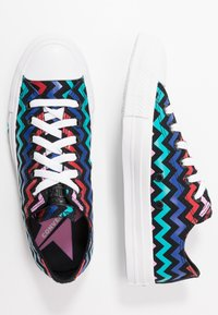 Converse - CHUCK TAYLOR ALL STAR - Trainers - black/peony pink/rapid teal - 3