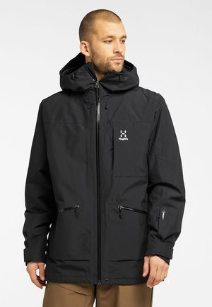 LUMI INSULATED JACKET - Ski jacket - true black