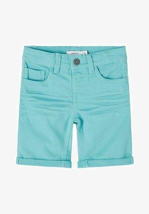 SLIM FIT  - Shorts - aqua