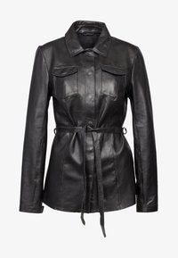 Freaky Nation - THE FLAIR - Leather jacket - black - 0