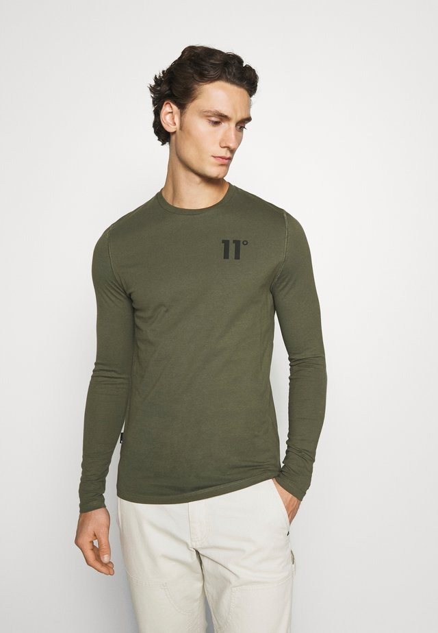 CORE - Long sleeved top - khaki