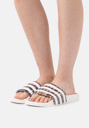 ADILETTE  - Slip-ins - footwear white/core black