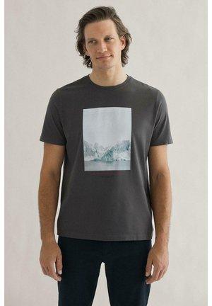 ROCAS T-SHIRT MAN - T-shirt print - grey