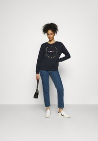 Tommy Hilfiger - REGULAR CIRCLE  - Sweatshirt - desert sky - 1