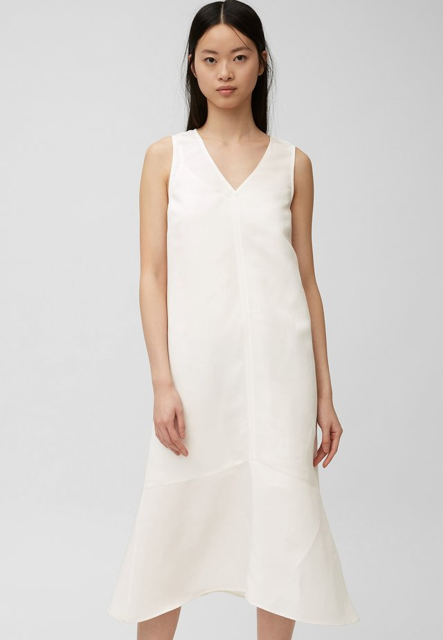 Korte jurk - natural white