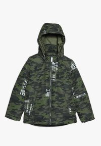 Name it - NKMMAX JACKET CAMO TEXT - Winterjas - winter moss - 0