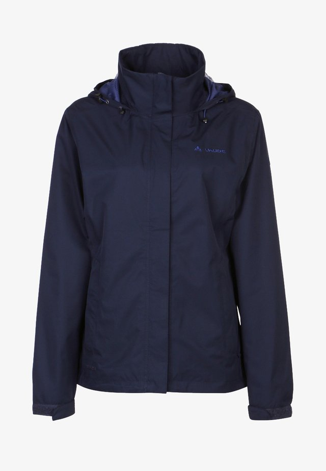 WOMANS ESCAPE LIGHT JACKET - Waterproof jacket - eclipse