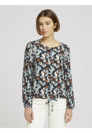 Long sleeved top - abstract print
