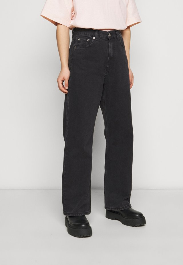 ECHO - Jeans baggy - concrete black