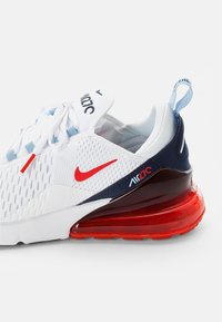 Nike Sportswear - AIR MAX - Sneakers - white/chile red-midnight navy-psychic blue-challenge red-mtlc silver - 5
