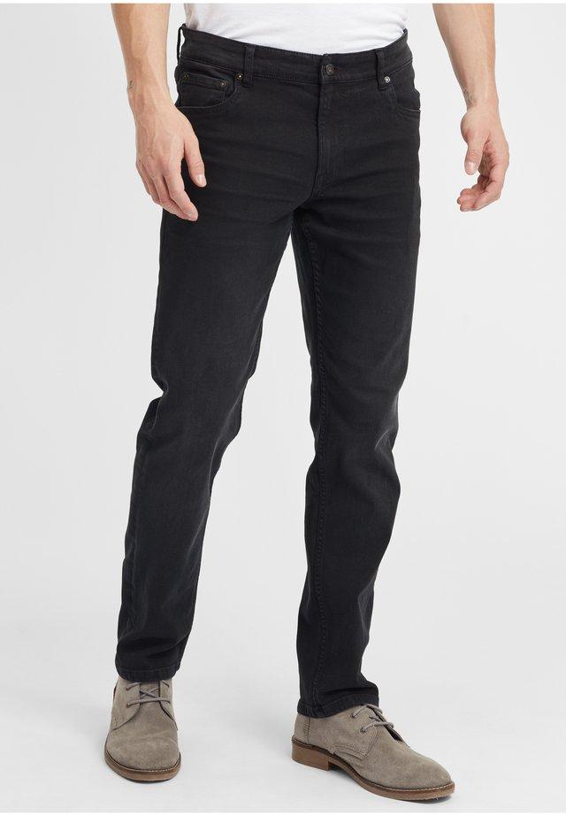 PIRKO - Straight leg jeans - black denim