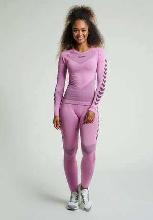 FIRST SEAMLESS WOMAN - Long sleeved top - cotton candy